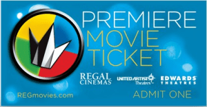 regal premiere ticket